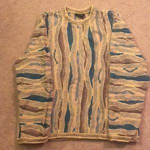 Vintage Coogi crewneck Sweater size 2XL